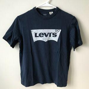 Boys blue Levi's T-shirt